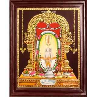 Sri Simhadri Appanna Tanjore Painting