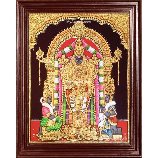 Uppiliappan / Oppiliyappan Tanjore Painting