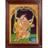 Jhula Radha Krishna Tanjore Painting, Krishna Tanjore Painting