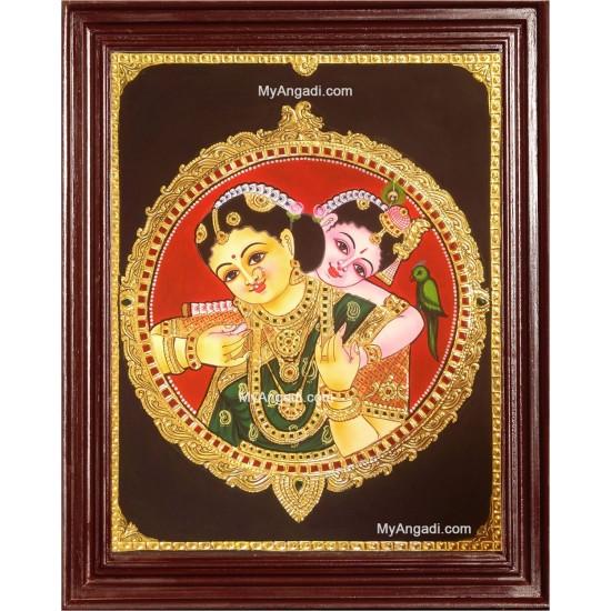 Yasotha Krishna Tanjore Paintings