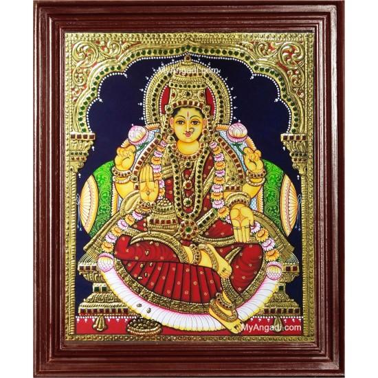 Iswarya Laxmi Tanjore Painting