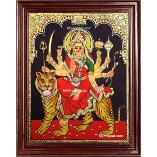 Durga Maa Tanjore Painting