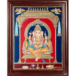 Ganesha Tajore Paintings