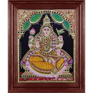 Ashta Lakshmi Tanjore Painting