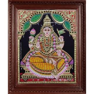 Adhi Lakshmi Tanjore Painting