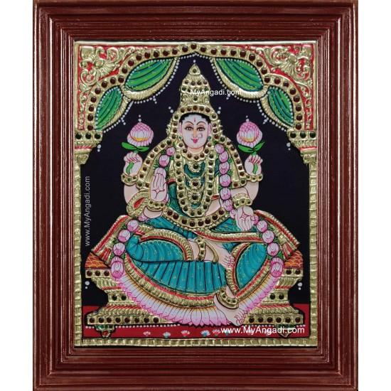 Aiswarya Lakshmi Tanjore Painting