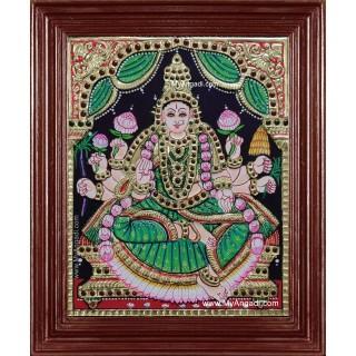 Dhanya Lakshmi Tanjore Painting