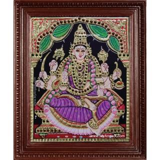 Vijaya Lakshmi Tanjore Painting