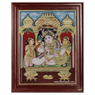 Krishna Durbar Painting