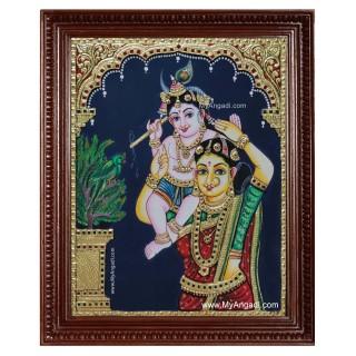 Yasotha Krishna Tanjore Painting