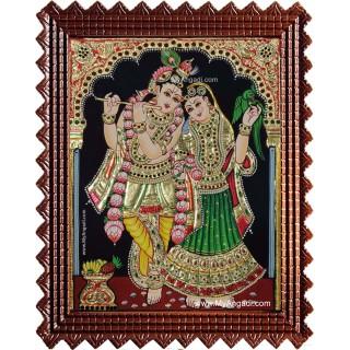 Radhe Krishna Tanjore Painting