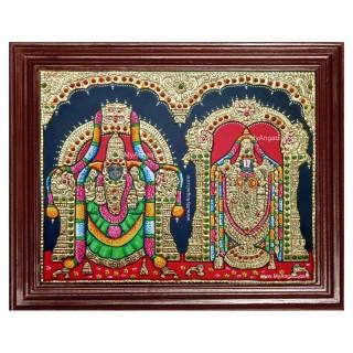 Balaji Thayar Tanjore Painting