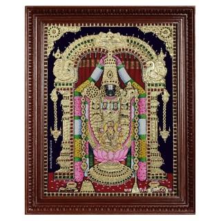 Balaji Lakshmi Tanjore Painting
