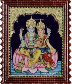 Vishnu Tanjore Paintings