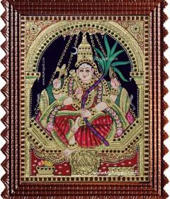 Lalitha & Kamatchi Tanjore Paintings