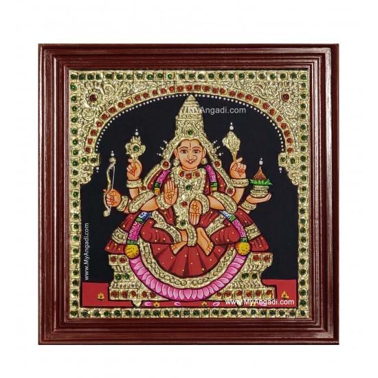 Dhana Lakshmi Ashtlakshmi Tanjore Painting