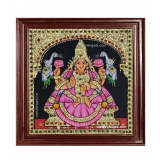 Gaja Lakshmi Ashtlakshmi Tanjore Painting