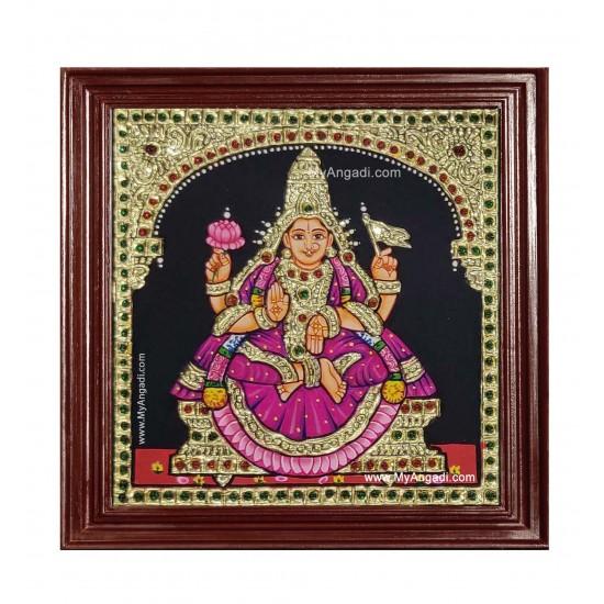 Adhi Lakshmi Ashtlakshmi Tanjore Painting