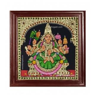 Dhanya Lakshmi Ashtlakshmi Tanjore Painting