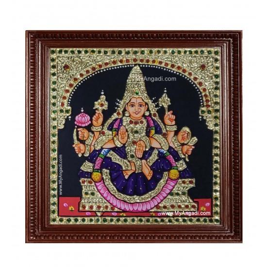 Vijaya Lakshmi Ashtlakshmi Tanjore Painting
