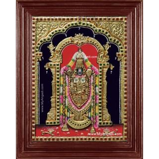 Tirupathi Perumal Balaji Tanjore Painting Classic
