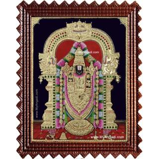 Tirupathi Perumal Balaji Tanjore Painting