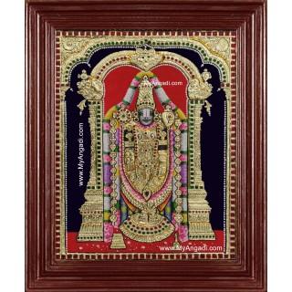 Tirupathi Venkateswara Tanjore Painting