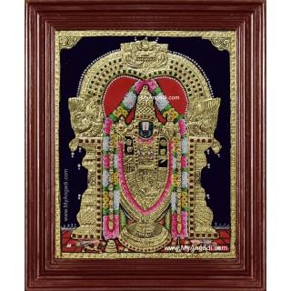 Tirumala Tirupathi Balaji Tanjore Painting