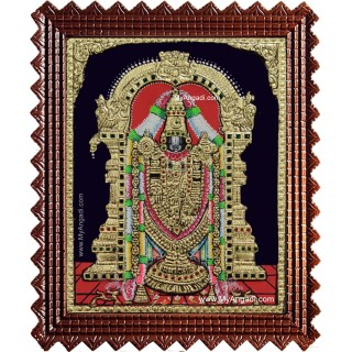Shri Venkateswara Tanjore Painting