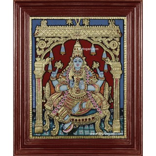 Dhanwantari Tanjore Painting