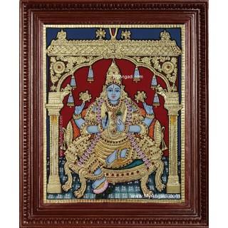 Danwantari Tanjore Painting