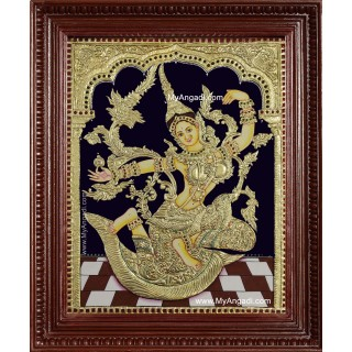 Indonesia Sita Tanjore Painting
