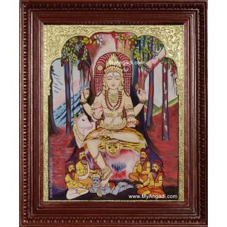 Dakshinamurthy Tanjore Painting