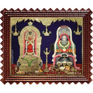 Vaitheeswaran Thaiyal Nayagi Tanjore Painting