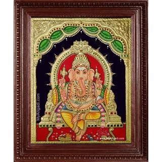 Vinayakar Tanjore Painting