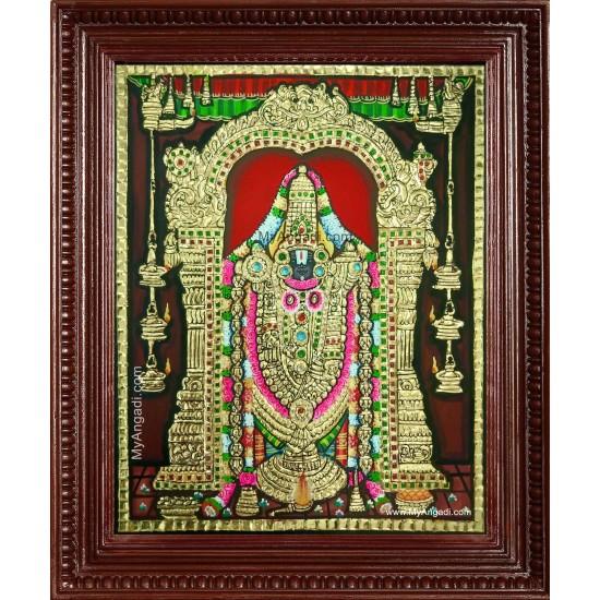 Thirupathi Venkateswaran Tanjore Painting