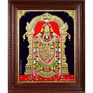 Tirupathi Balaji Tanjore Painting