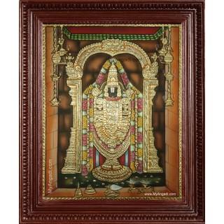 Tirupathi Perumal Tanjore Painting