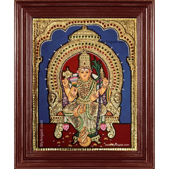 Lalitha Devi Tanjore Painting