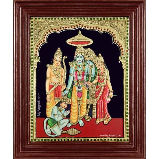 Ram Durbar Tanjore Painting