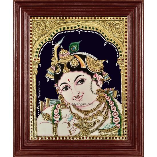 Shri Krishnar Tanjore Painting