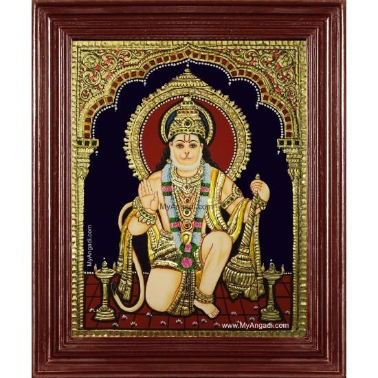 Anchaneya Tanjore Painting