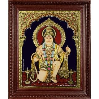 Anchaneya Tanjore Painting