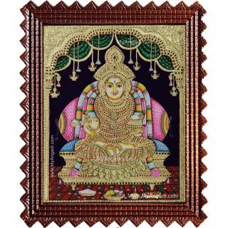 Annapurani Devi Tanjore Painting