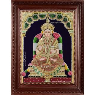 Annalakshmi Tanjore Painting