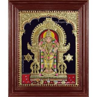 Tiruchendur Murugan Tanjore Painting