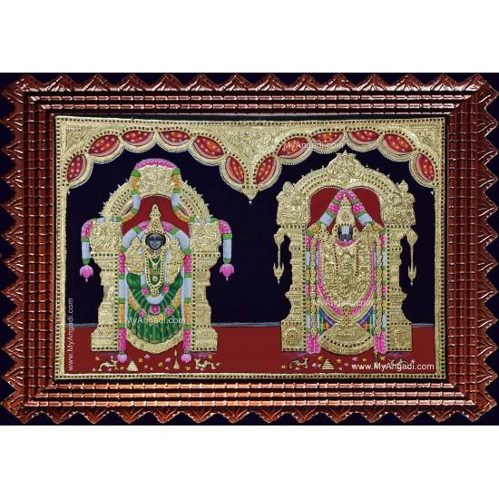 Srinivasan Alamelumanga Tanjore Painting