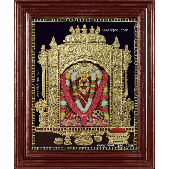 Sri Kanaka Durga Malleswaram Tanjore Painting