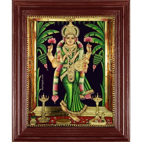 Graha Lakshmi Tanjore Painting