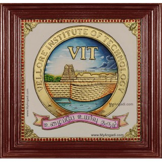 VIT University Logo Tanjore Painting